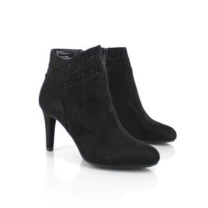Rialto Shoes - Rialto | Camero Embellished Ankle Booties 8